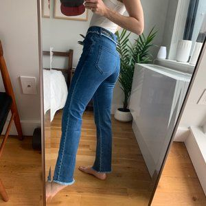 See By Chloe Jeans - Chloe 70s Frayed Bootcut Jeans High Rise